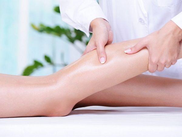 Лимфодренажный самомассаж ног